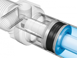 Round Cylinders Feature Self Adjusting Pneumatic