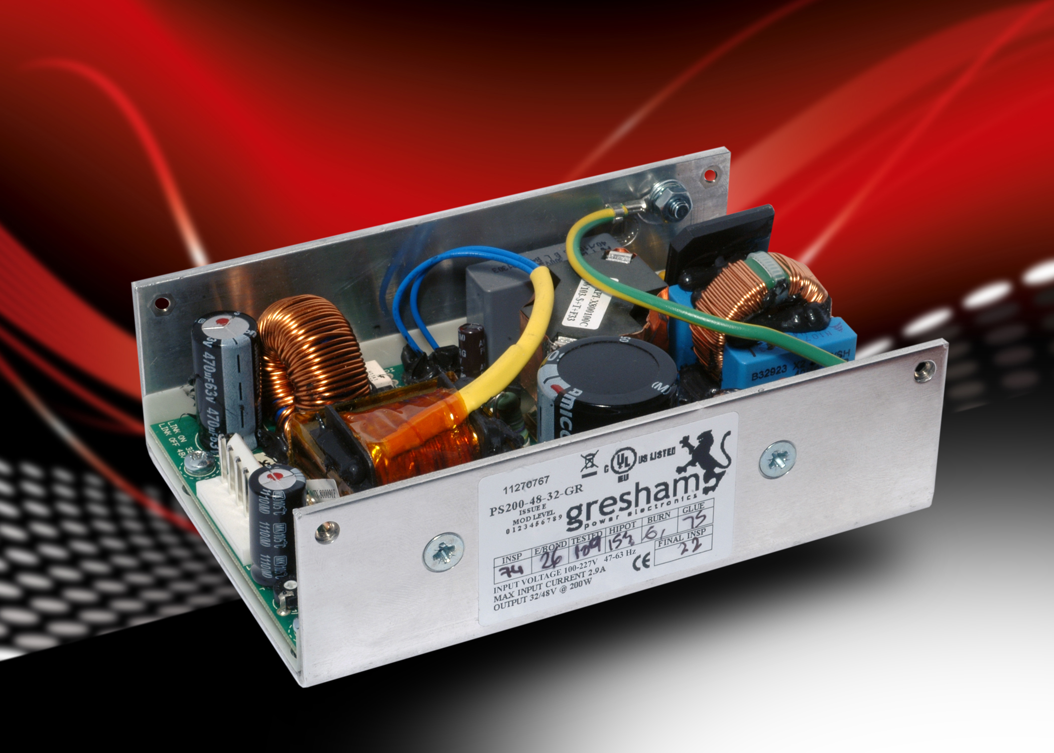 Custom Designed Power Supplies Engineer Live 200w Atx Supply Circuit Gresham Electronics Is Offering Customers A New Uk Based Design And Manufacturing Service