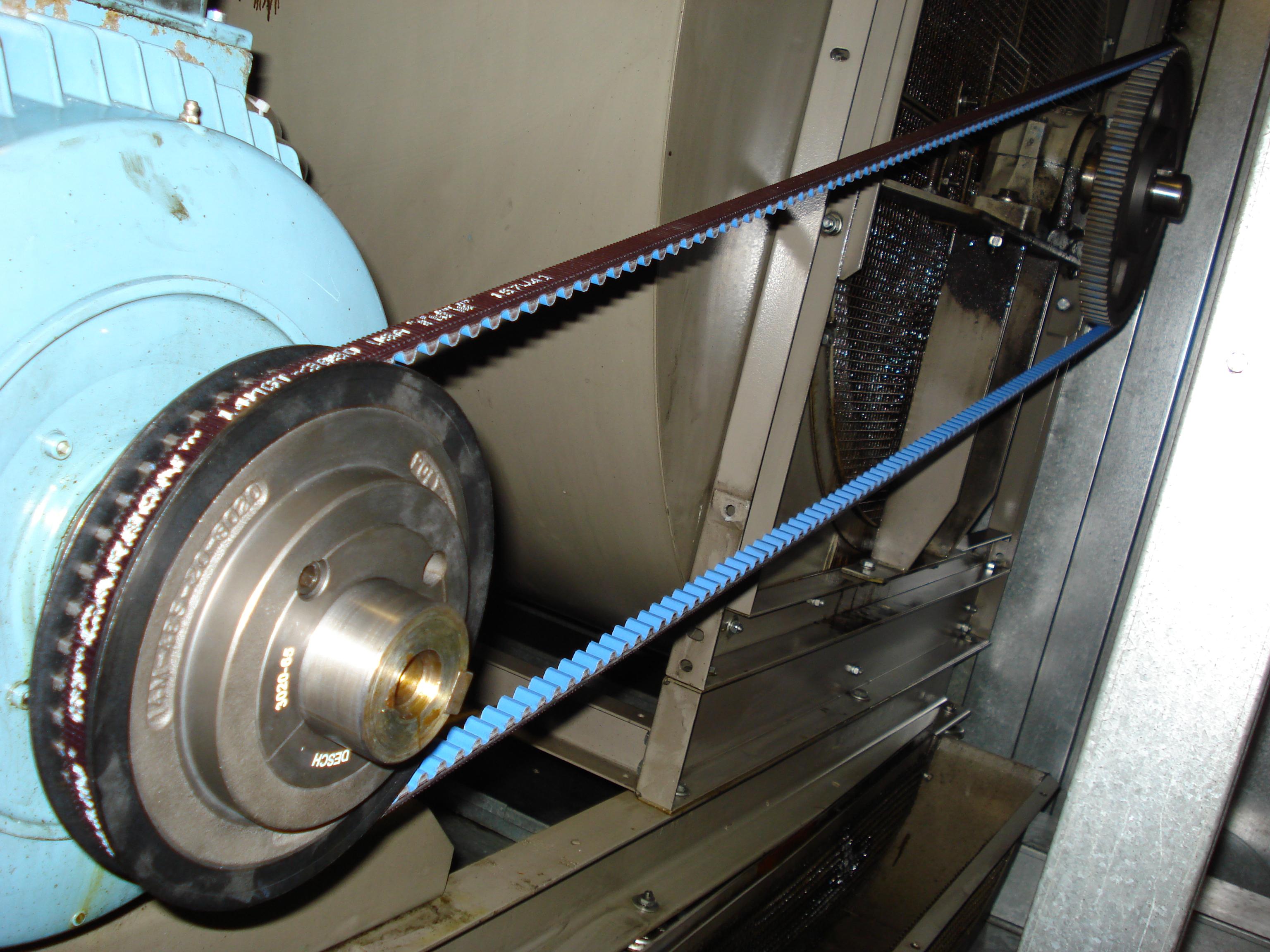 Belt Drive Optimisation And Energy Saving Gates Power