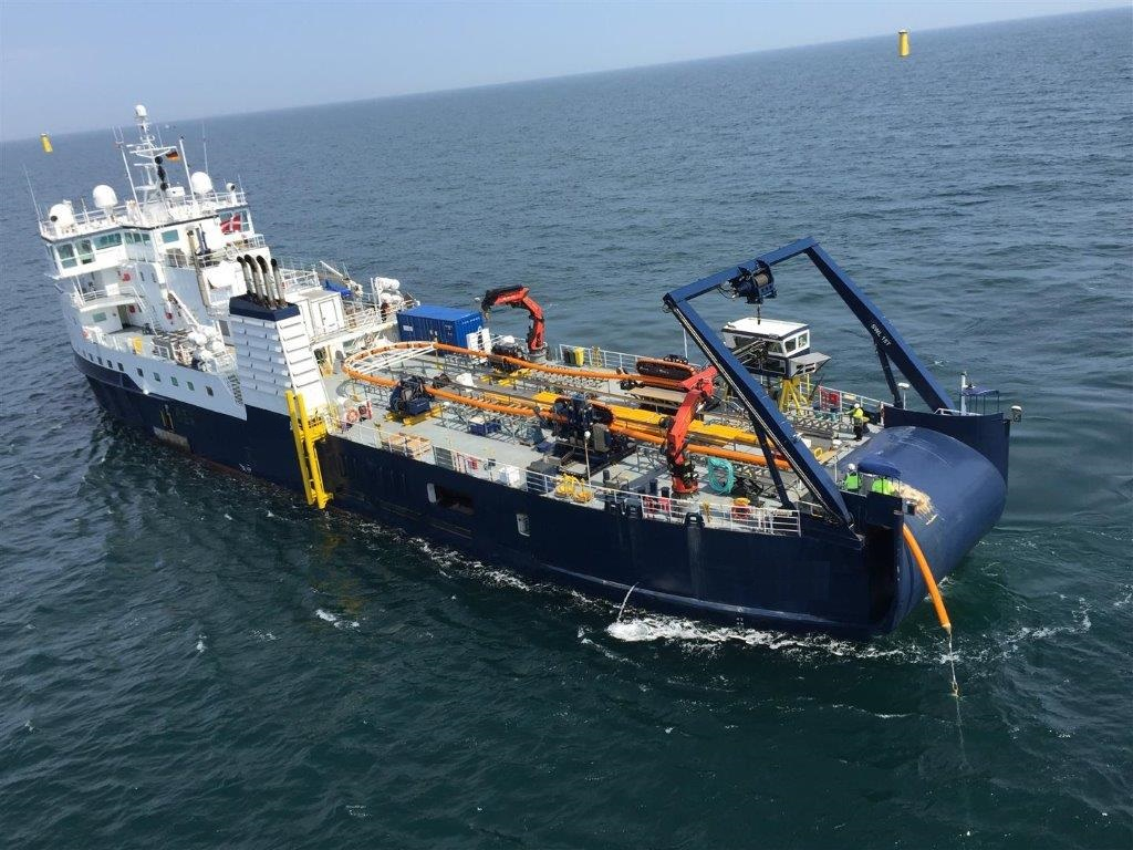 Upgraded Cable Laying Vessel Engineer Live