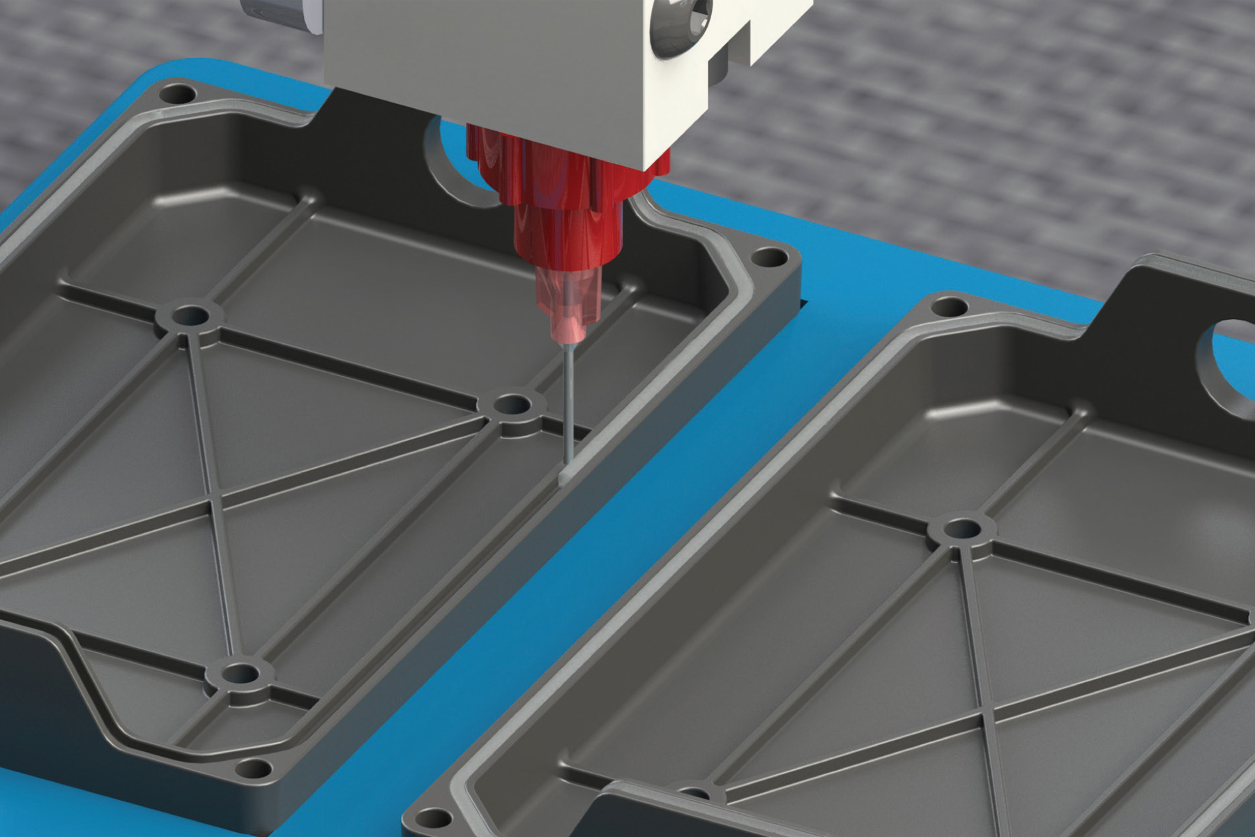Improving efficiency of FIP gaskets with new UV cure material ...