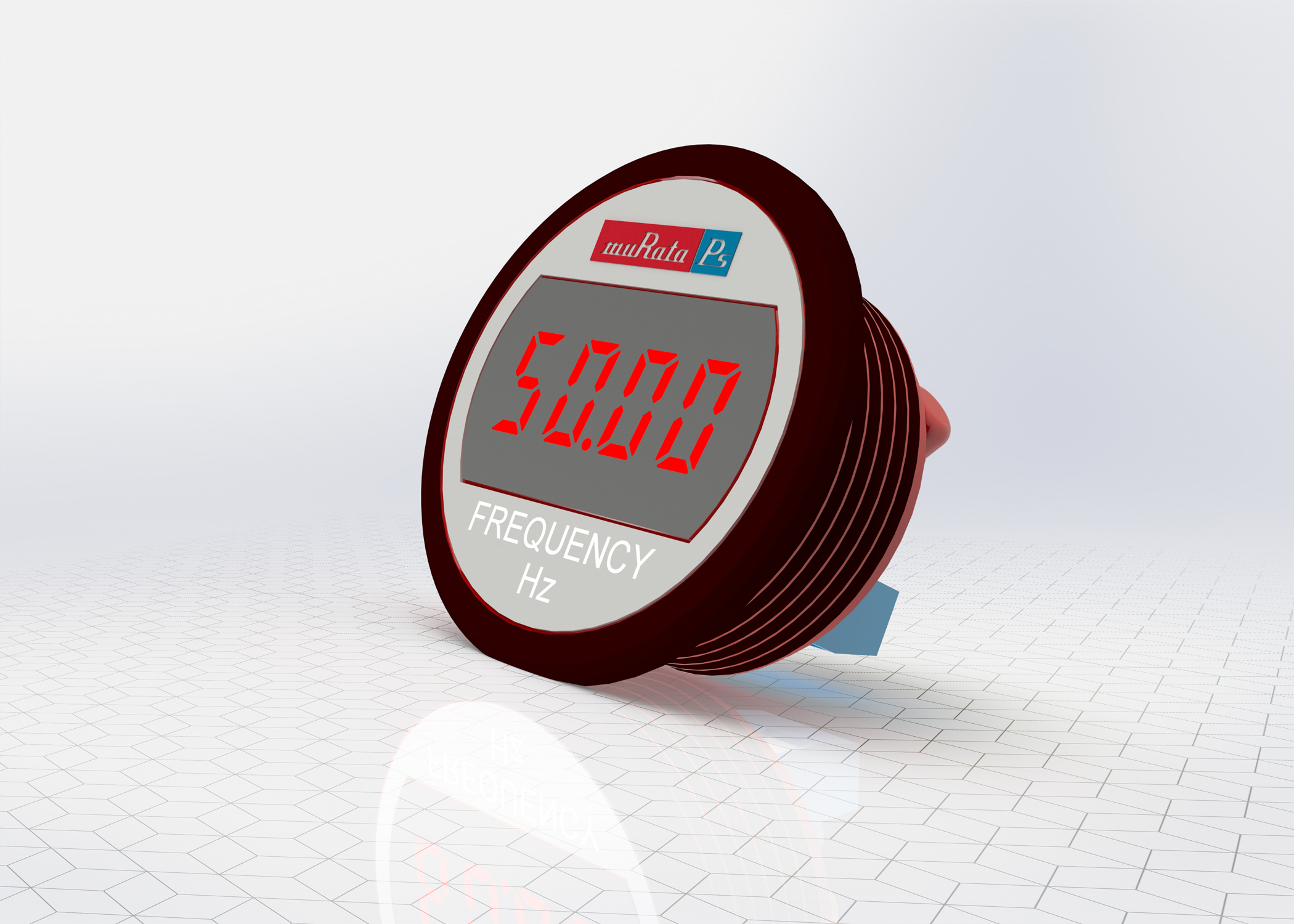 Self Powered Led Meter Displays Ac Line Frequency Engineer Live Power Monitor With Display Miniature Digital Panel Monitors From Murata Solutions Designed To Measure And Mains Frequencies In The Range Of