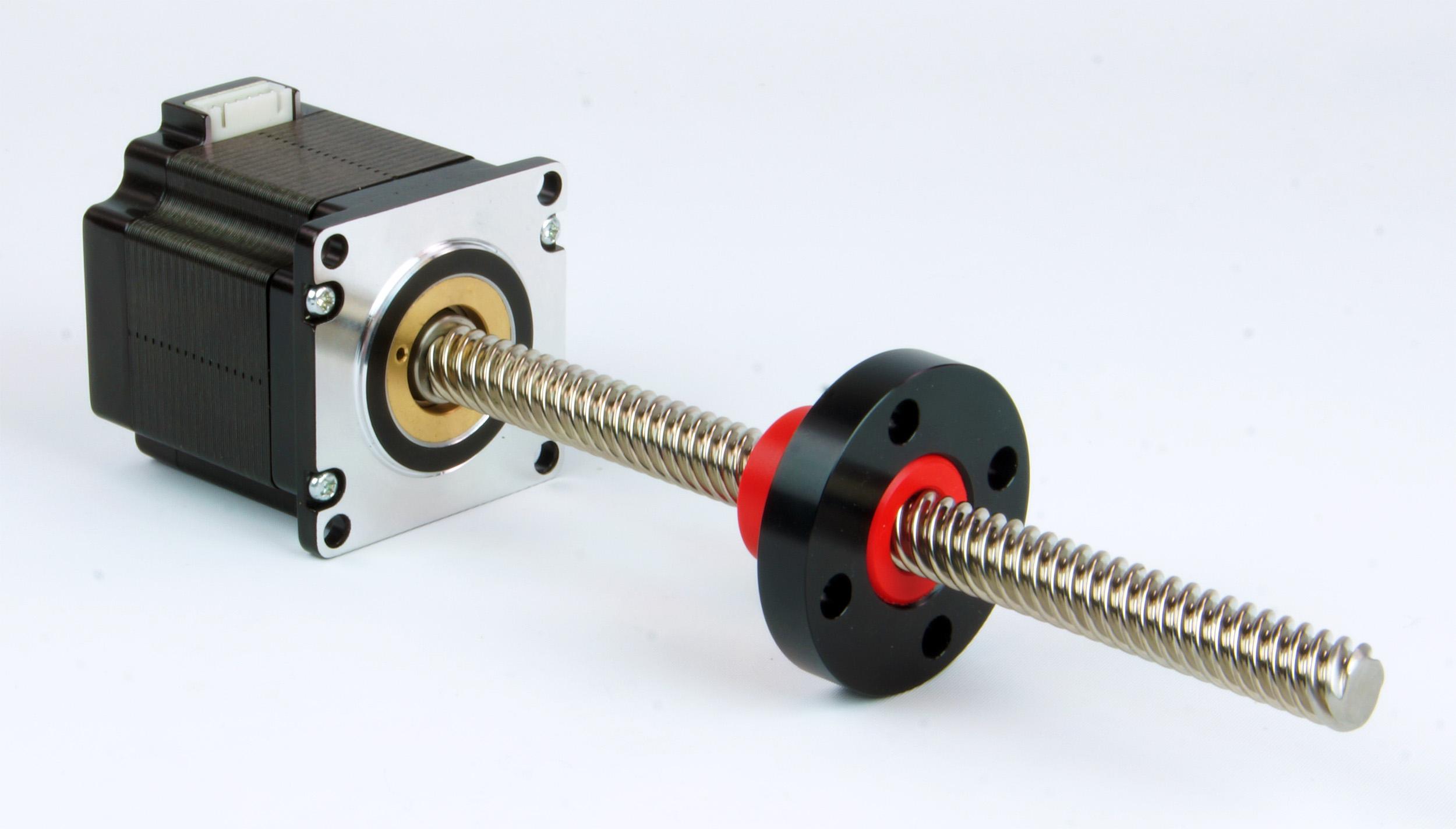 Hollow shaft stepper motor range offers simplified design for Hollow shaft servo motor