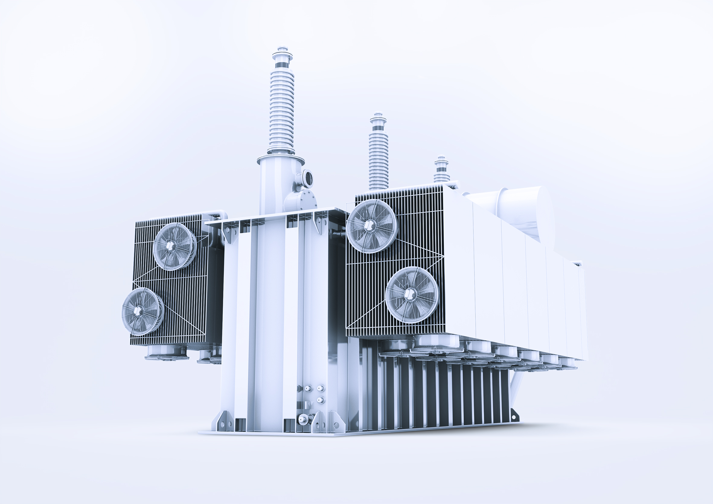 Keeping Transformers Cool Engineer Live How To Increase Currents Of A Transformer The Fans Used In Cooling Systems Large Must Withstand Harsh Conditions Here Robust Technology That Works Reliably For Decades And Does
