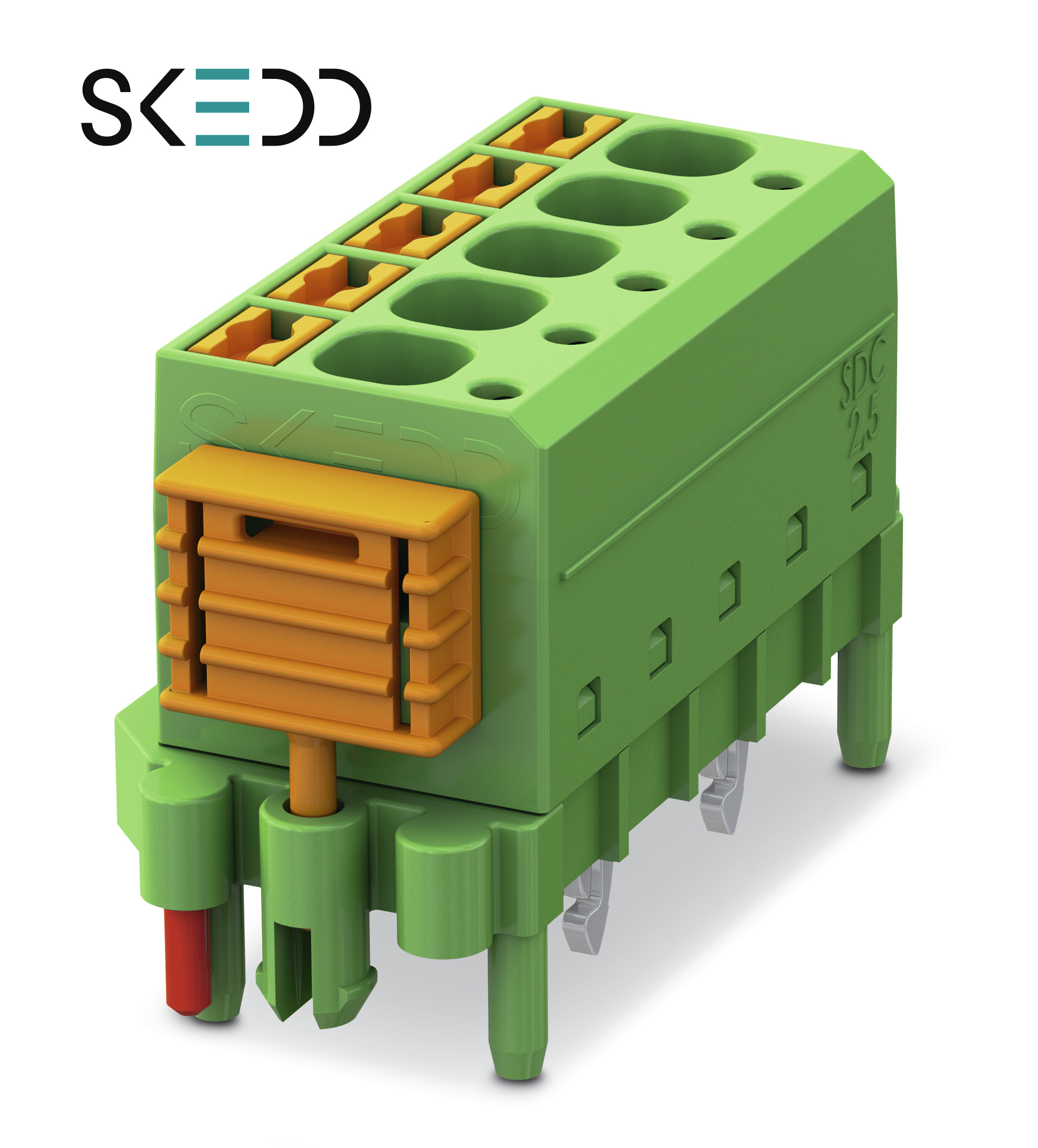 Direct Wire To Board Connectors Allow Easy Hand Assembly Engineer Live Vehicle Wiring Database In Pcb Connection Technology With The Introduction Of Skedd Sdc 25 Series Solderless From Phoenix Contact