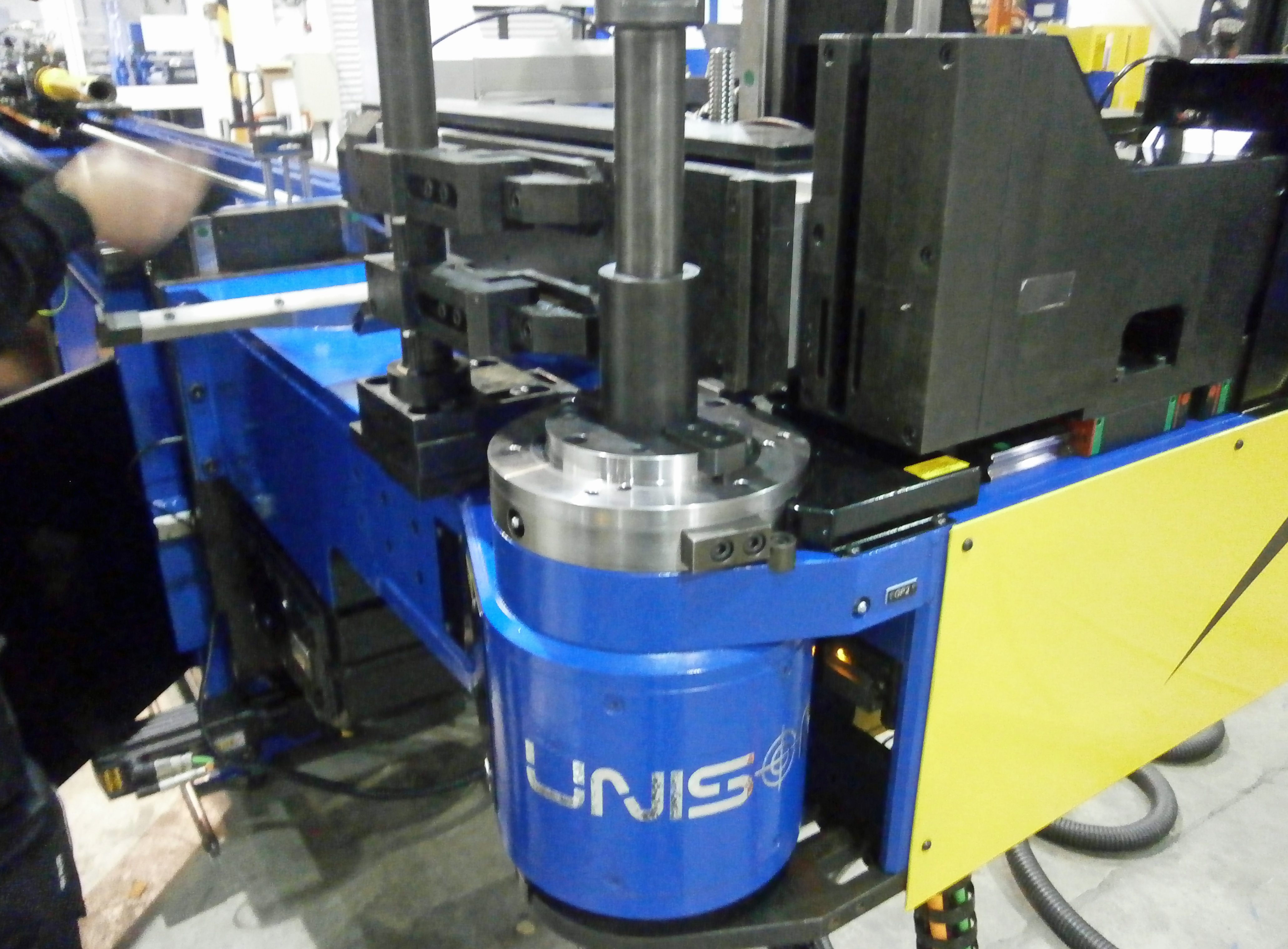 Second all-electric bending machine for pole manufacturer | Engineer ...
