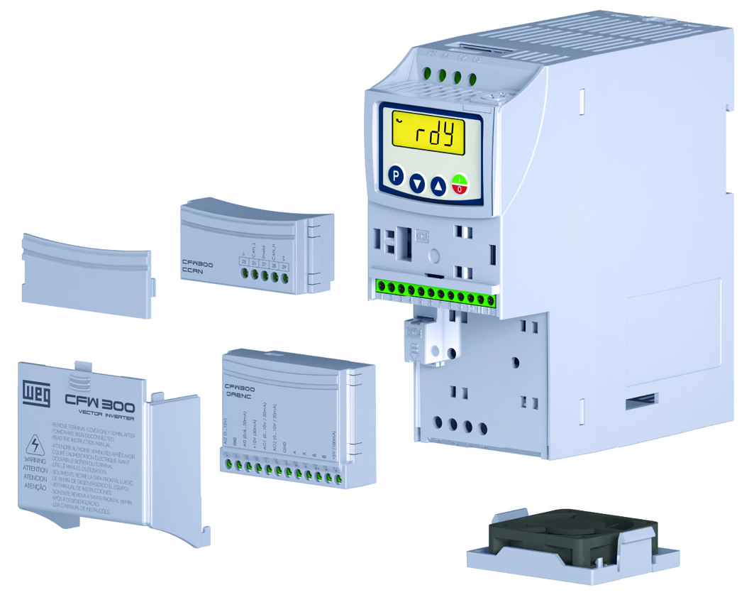 New series of compact variable speed drives for low-power motors ...