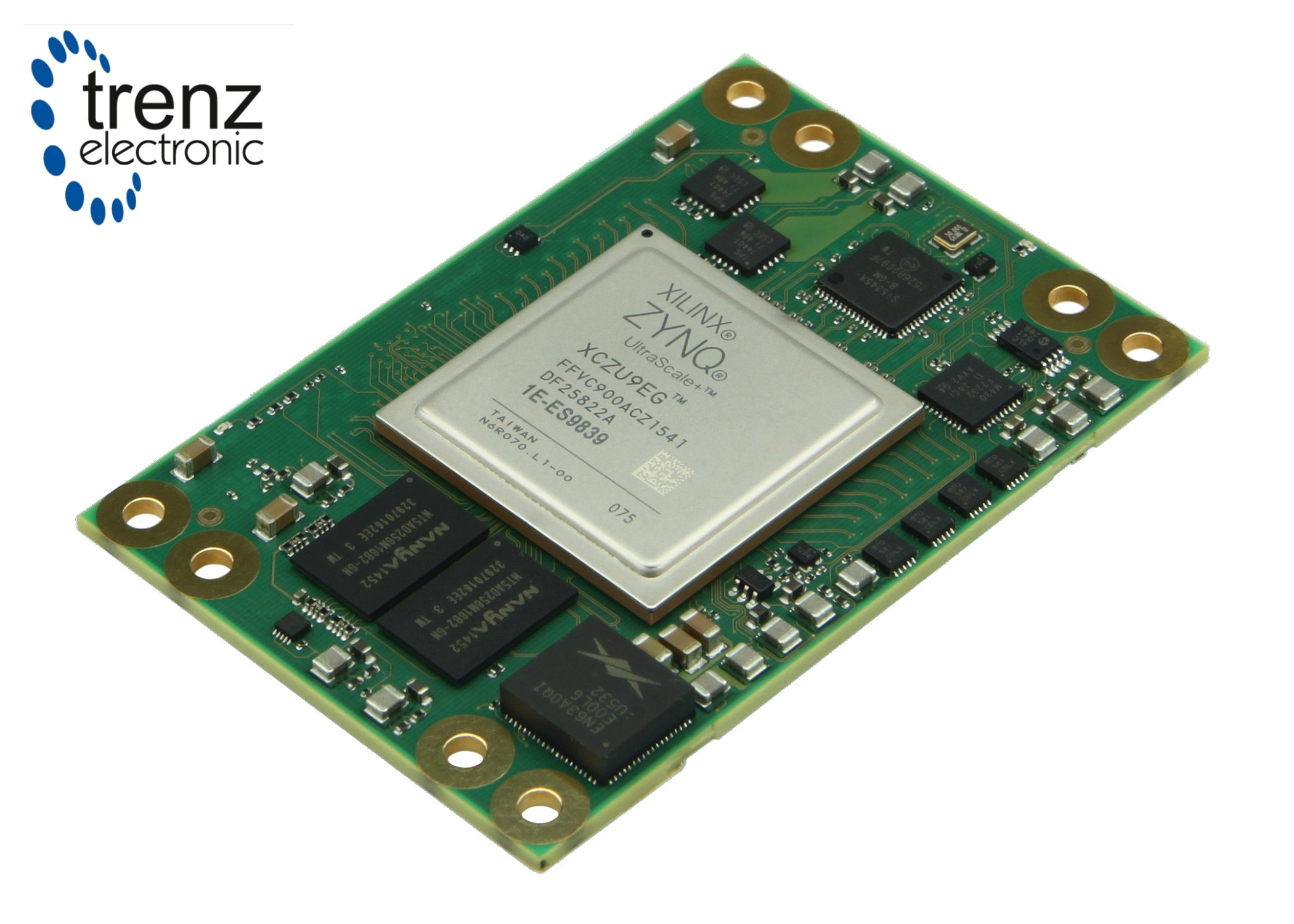 Compact System On Module Uses Xilinx Zynq Ultrascale
