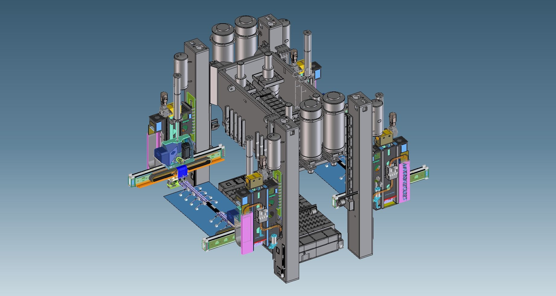 High Speed Transfer Of Parts Engineer Live