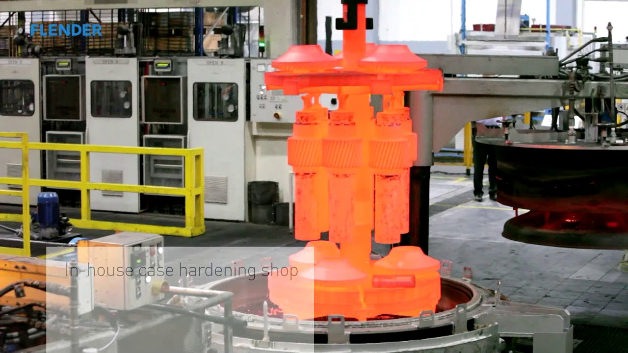 Flender bevel gear set production – a closed process carried out completely in-house