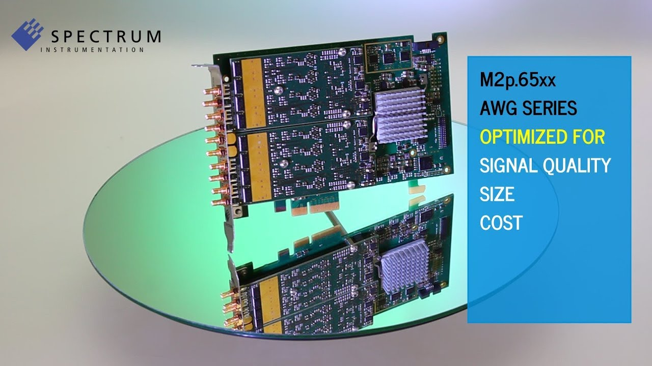 Spectrum M2p.65xx AWG-series Introduction