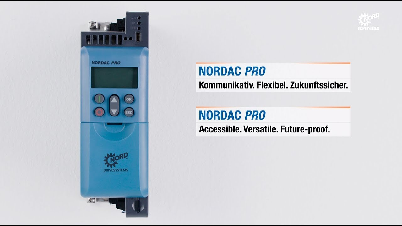 Product Highlight NORDAC PRO SK 500P | NORD DRIVESYSTEMS