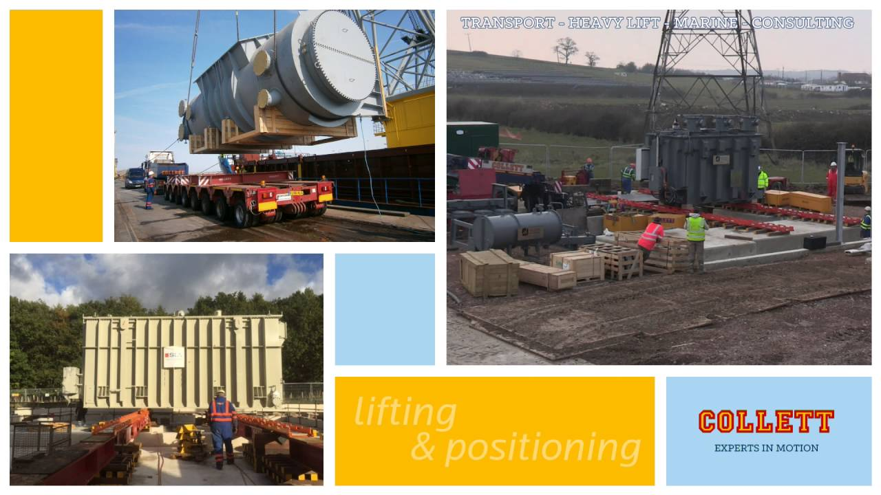 Collett & Sons the UK's Leading Multimodal Heavy Lift Company