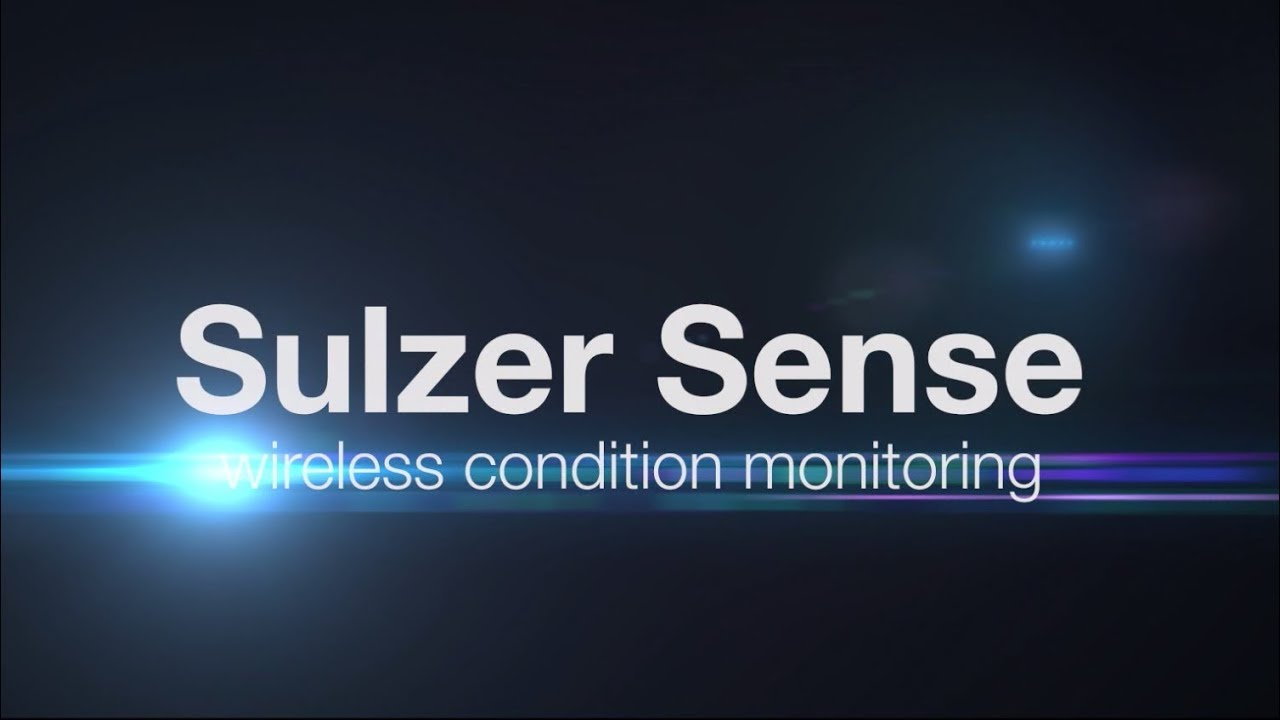 Sulzer Sense IOT - wireless condition monitoring