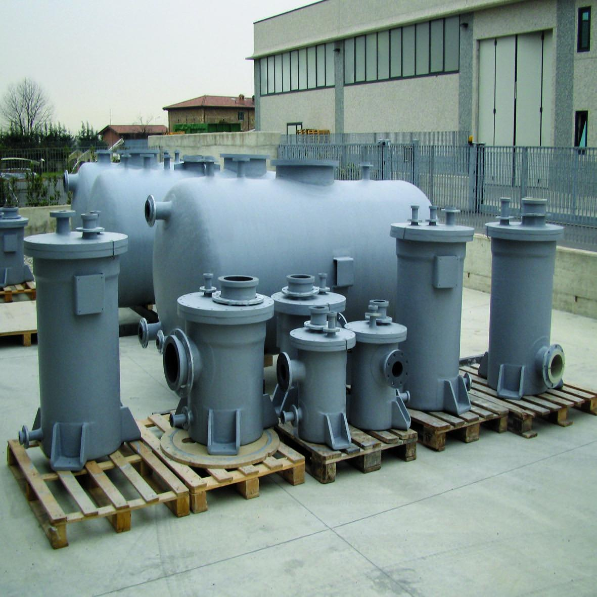 Vessels manufactured from CPVC