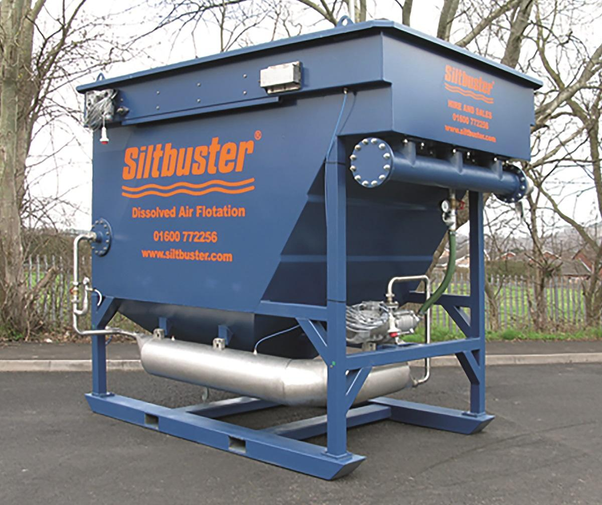 Siltbuster is seeing its DAF technology used in many ways