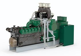 The ETC 1000 twin system on a genset
