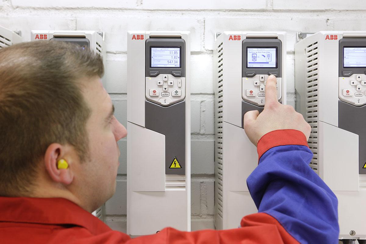 The ACS580 from ABB was designed with the UX in mind