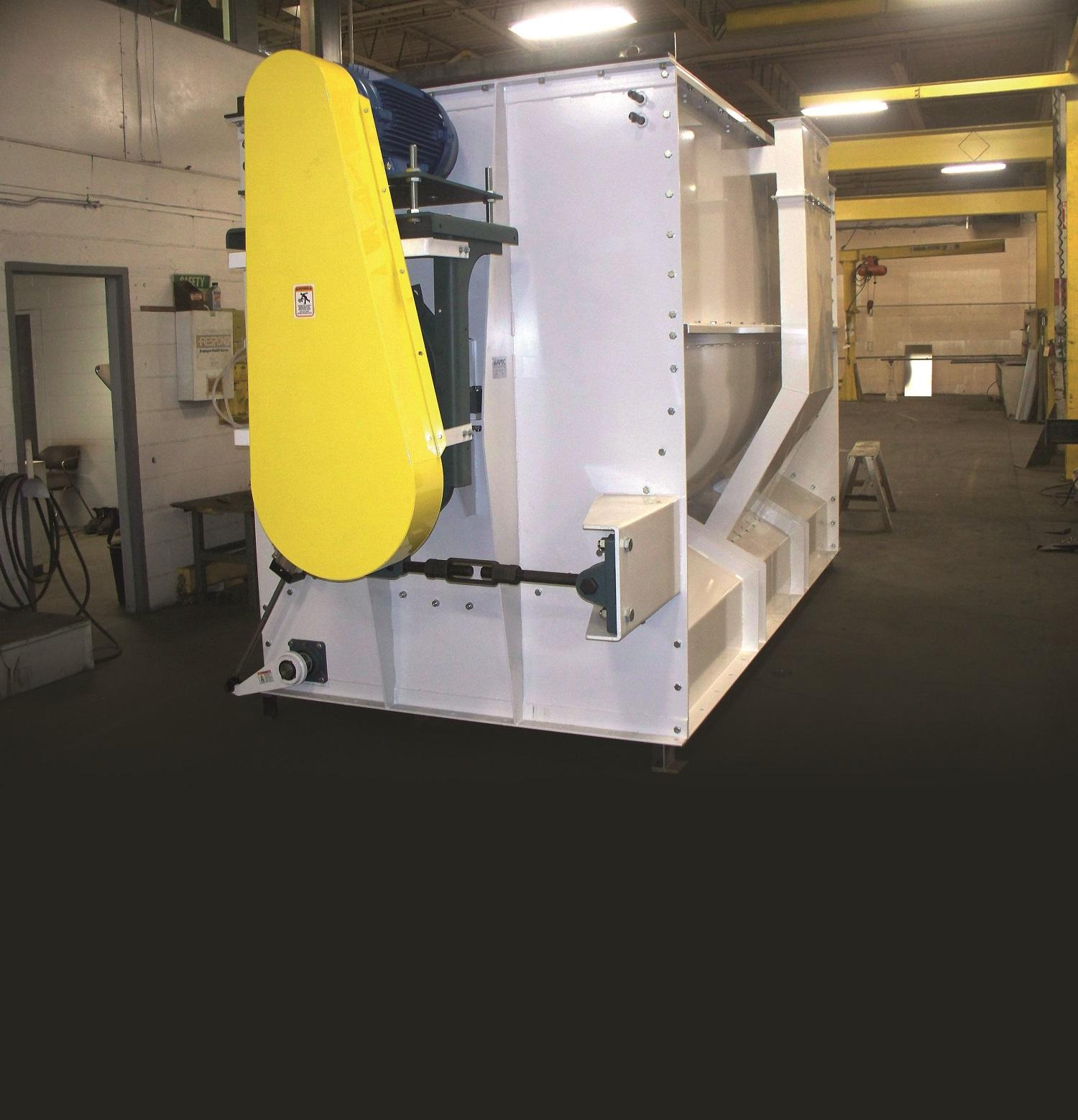 APEC's Horizontal Ribbon Mixer has been successfully used in a variety of industrial applications