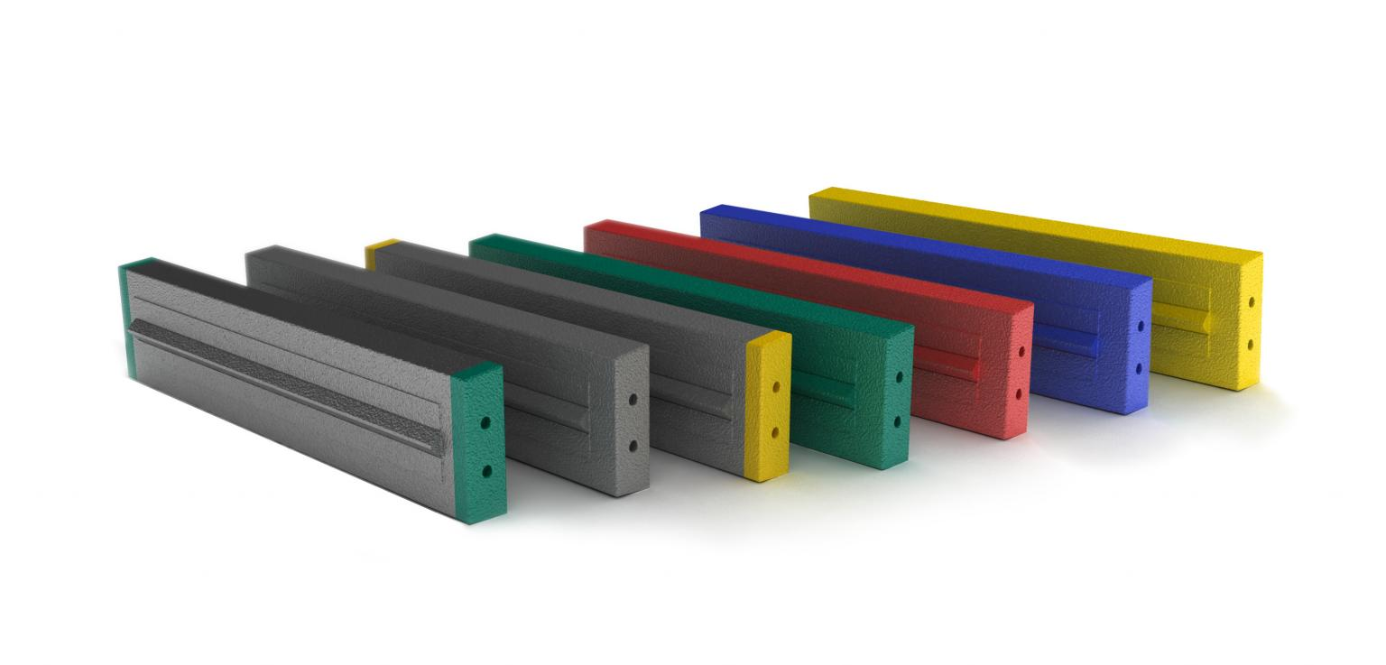 The Magotteaux composite type blow bars are now available through Metso's world-wide sales network