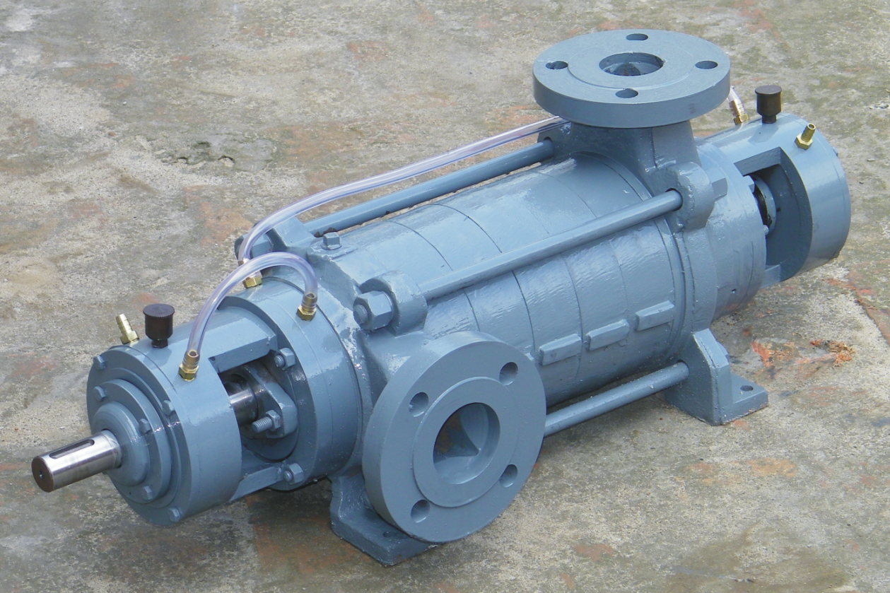A common multistage pump