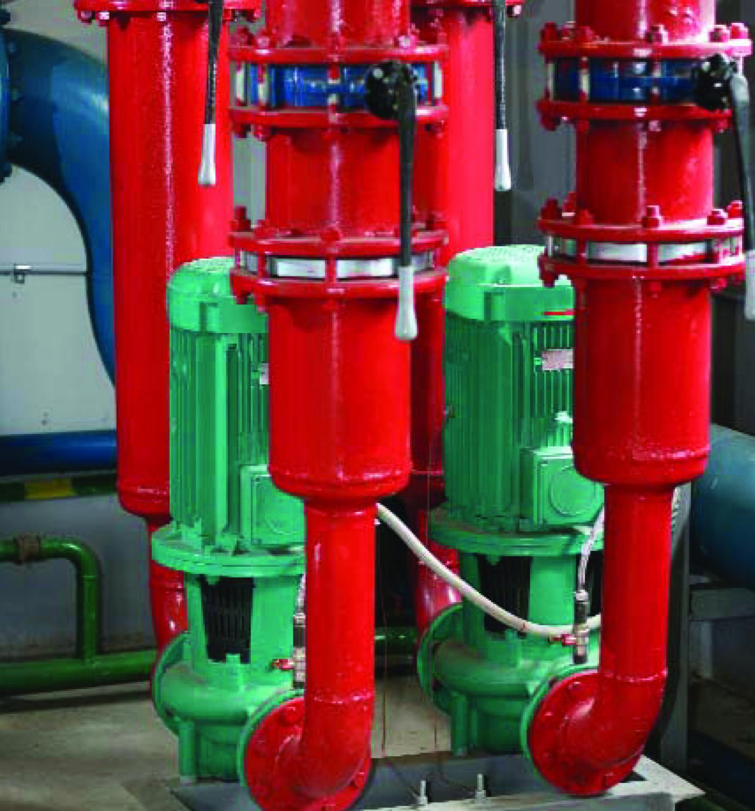 A standard duty and standby pump configuration