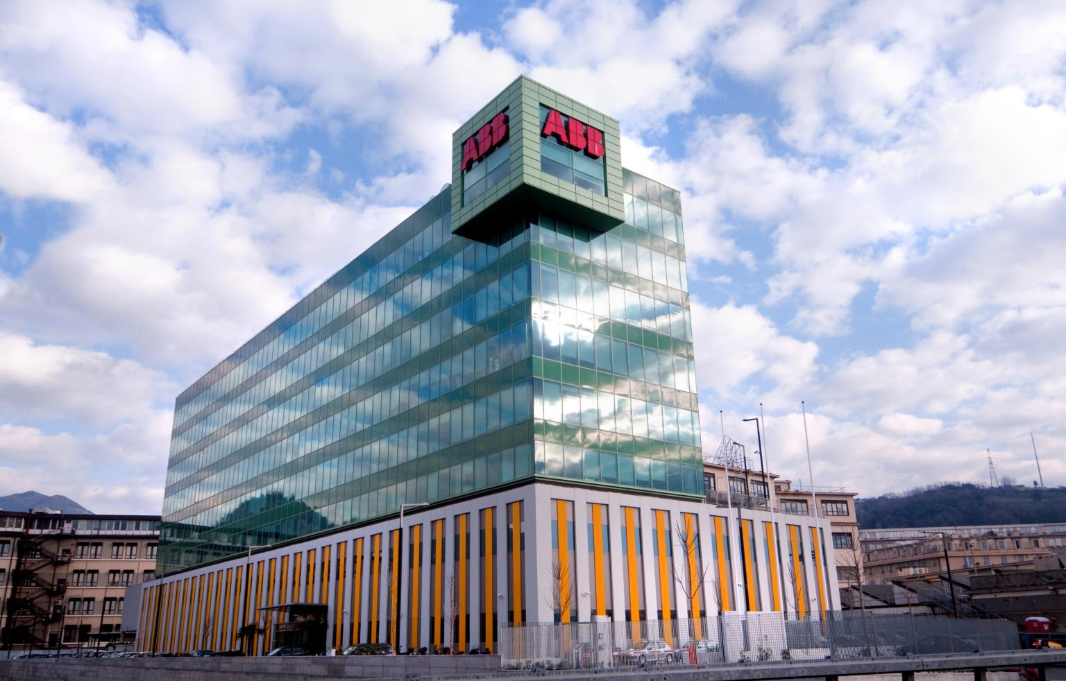 The new operations centre is at ABB's office in Genoa, Italy