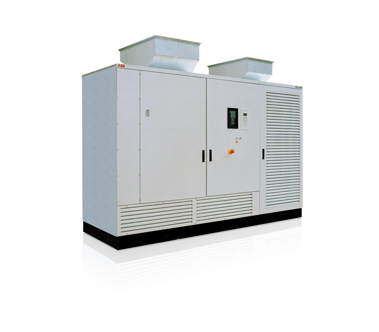 ACS1000i medium voltage variable frequency drive from ABB