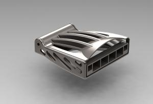 The SAVING project says that a titanium seat buckle, made using 3D printing, could save £2m over the life of an aircraft