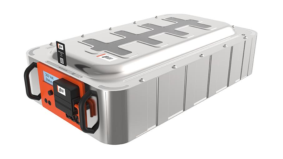 The Tmax-Battery Housing for lithium-ion systems helps to keep the temperature under control abd to ensure safety for both people and machines