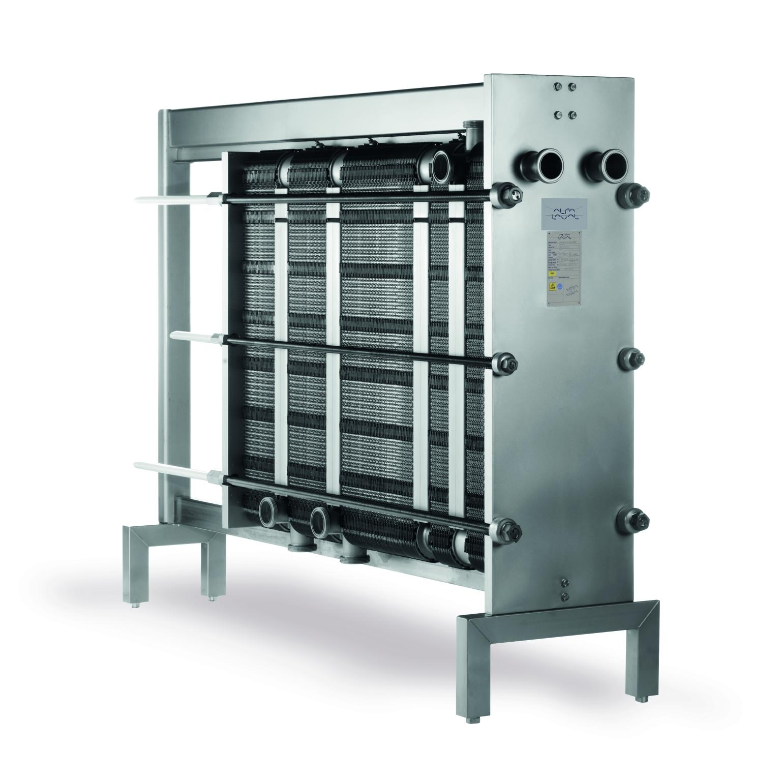 An Alfa Laval FrontLine gasketed plate heat exchanger