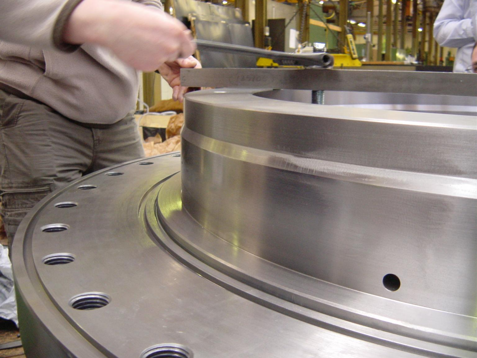 The quality control facilities at the Wichita manufacturing site play a vital role in everyday production