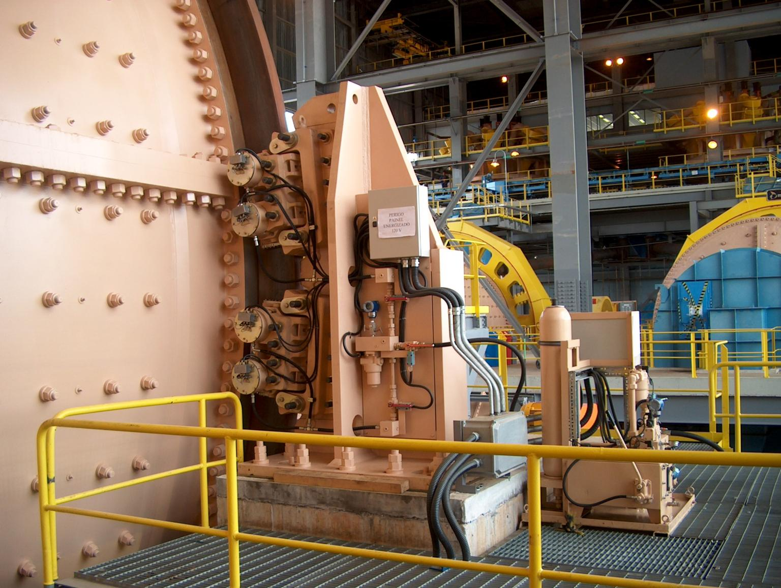 Industrial brakes are often subjected to extremely tough and remote operating conditions