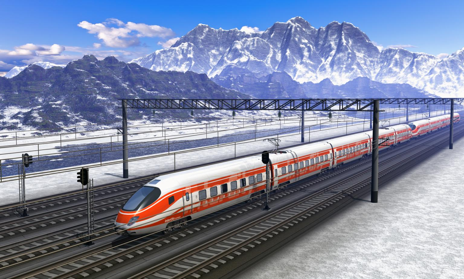 Warner Electric designed a high torque, high speed, high power clutch solutions for the train's hybrid transmission. Source: iStock - scanrail