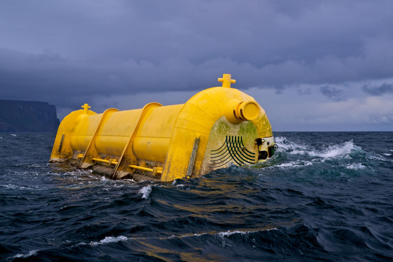 The Oyster 800 wave energy project from Aquamarine Power