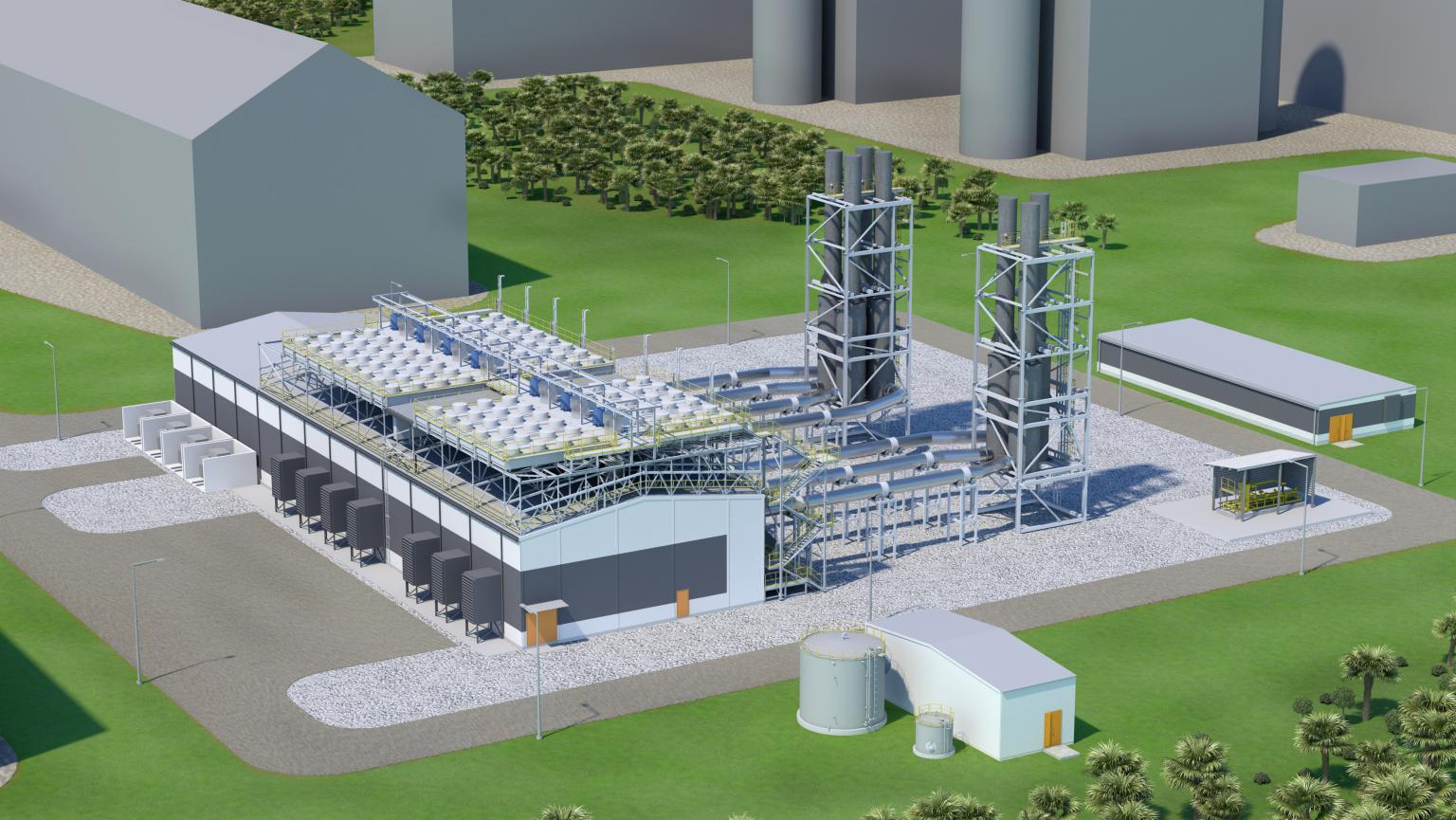 The Assam power plant will benefit from new gas engines