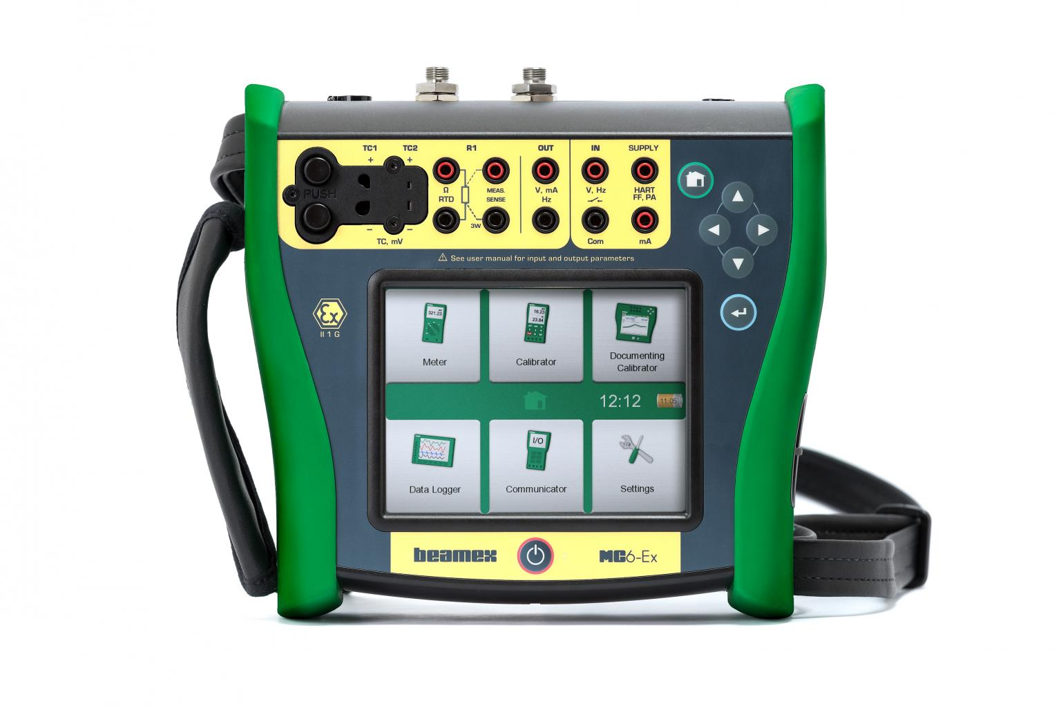 Beamex Mc6-Ex Intrinsically safe calibrator