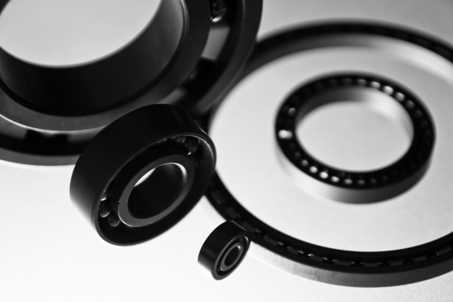 Example of Silicon Nitride Bearings