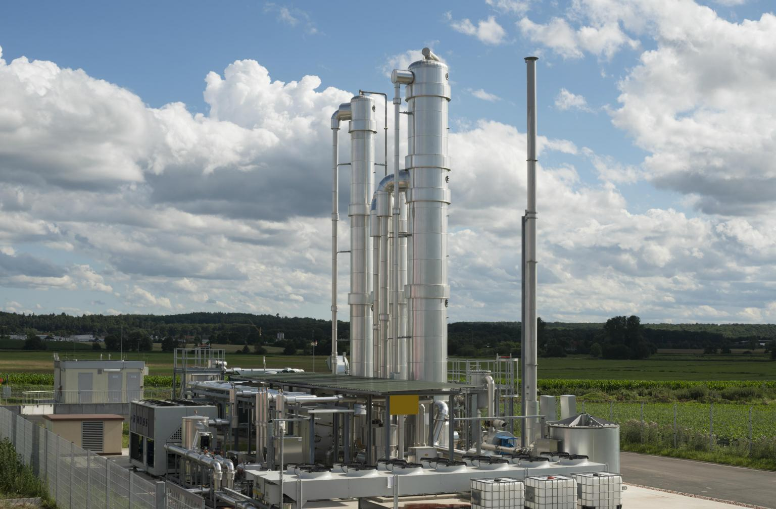One of the largest biogas plants in France has Bredel 65 hose pumps at its core