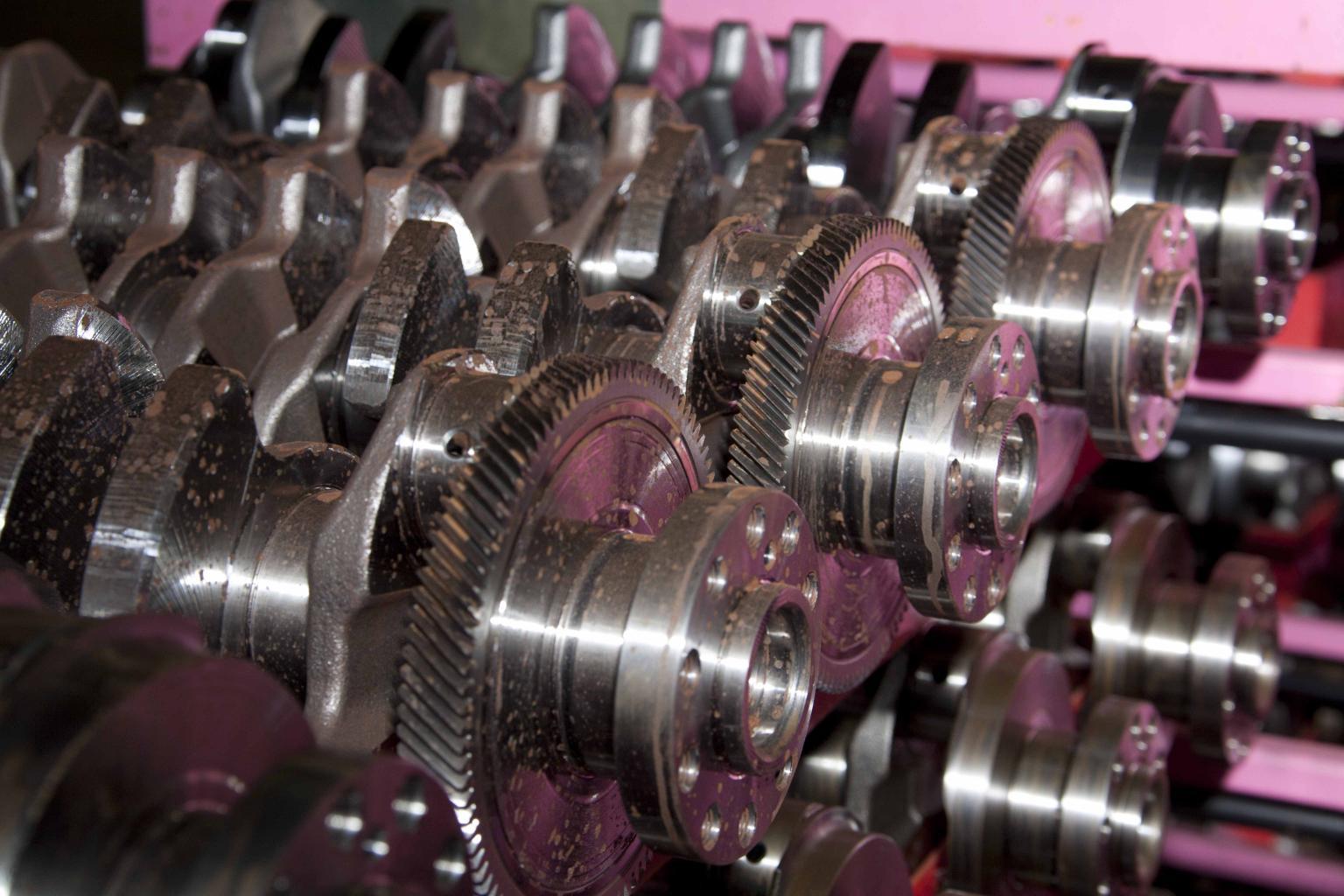 Shrink-bonding application on the Volvo engine