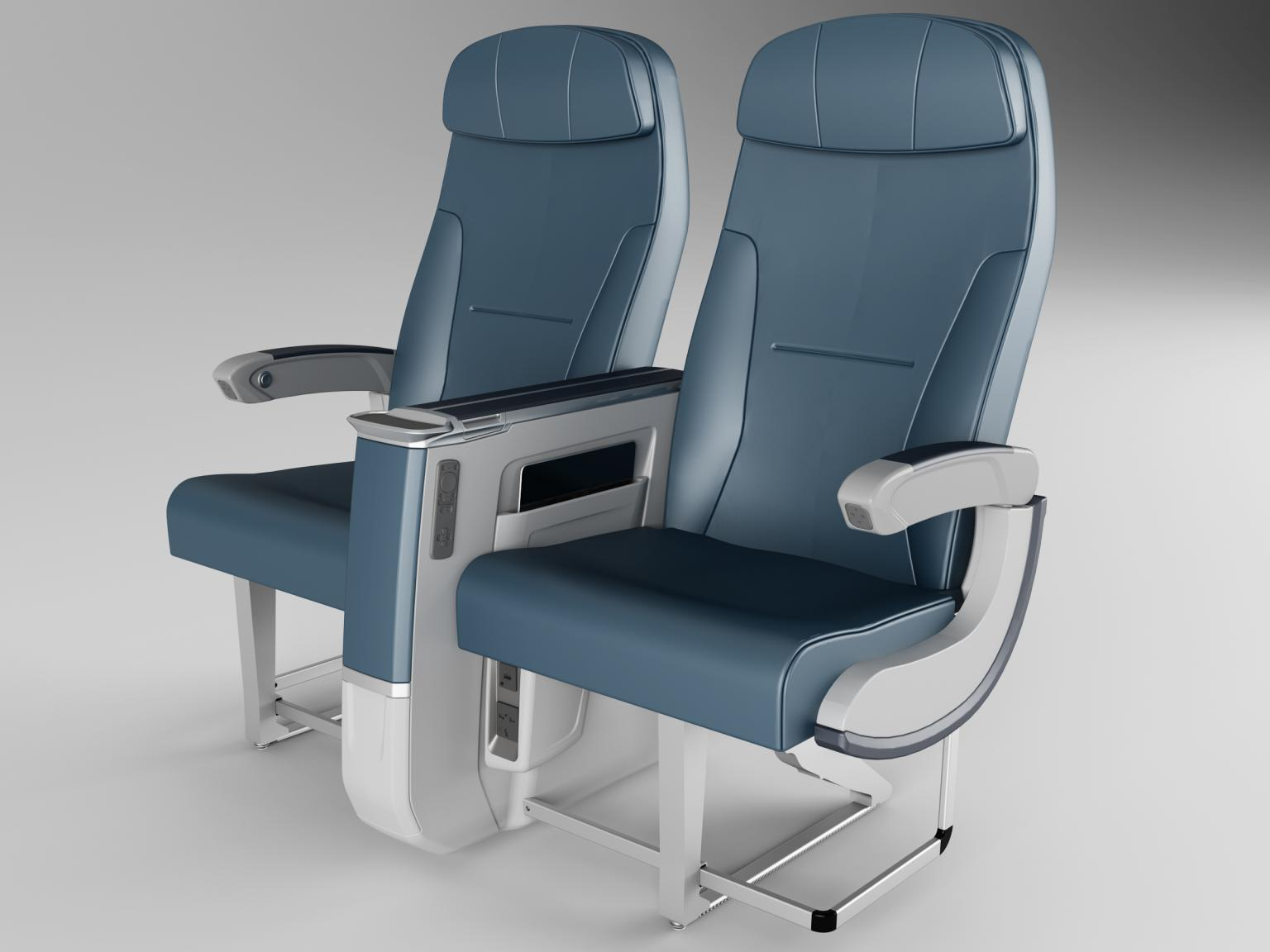A low-profile hinge reduced seat weight and enhanced performance