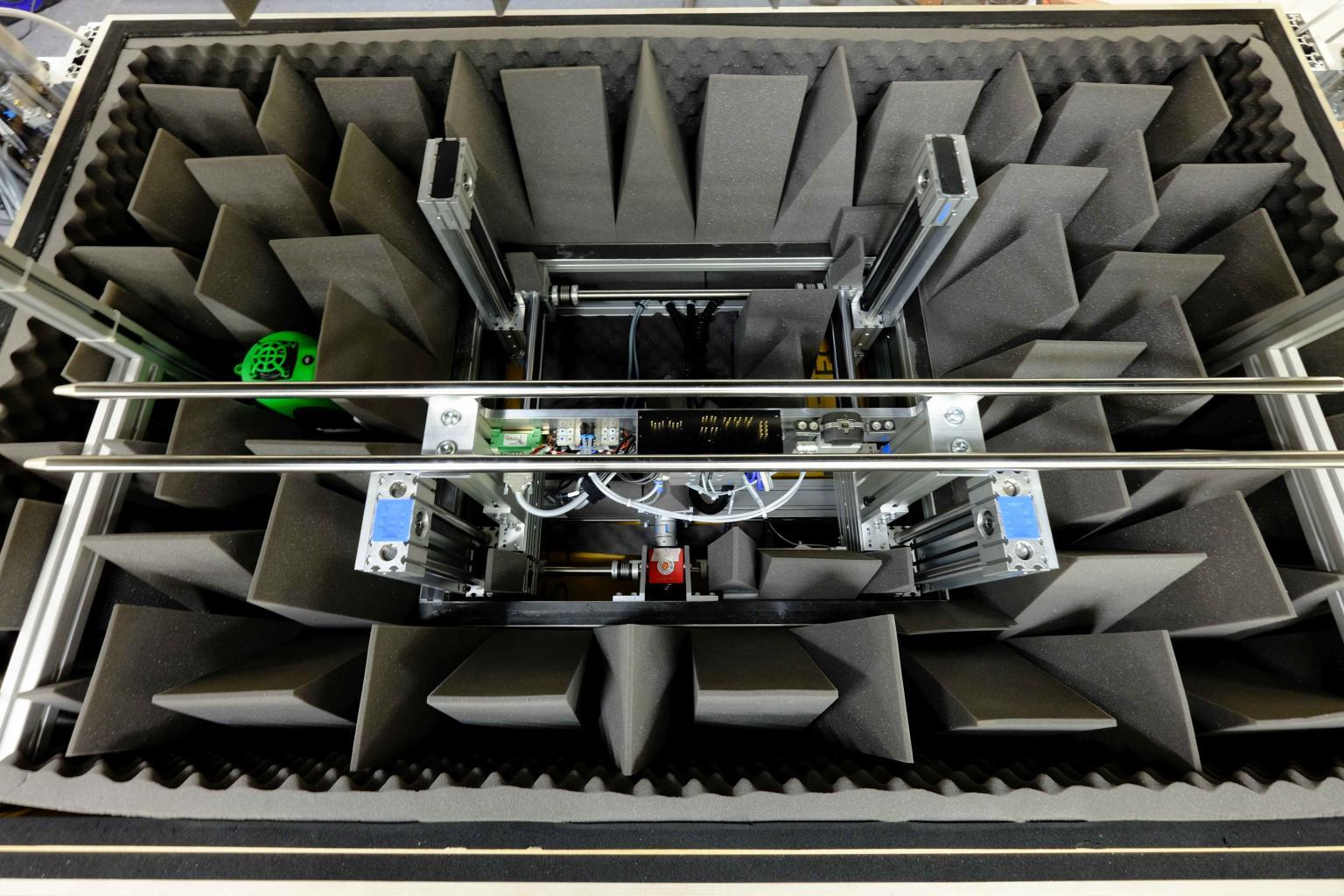 Carrier for unit-under-test inside chamber