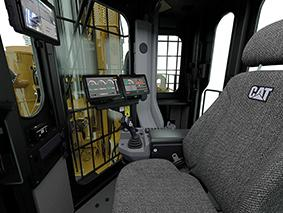 Cat MD6200 Drill interior