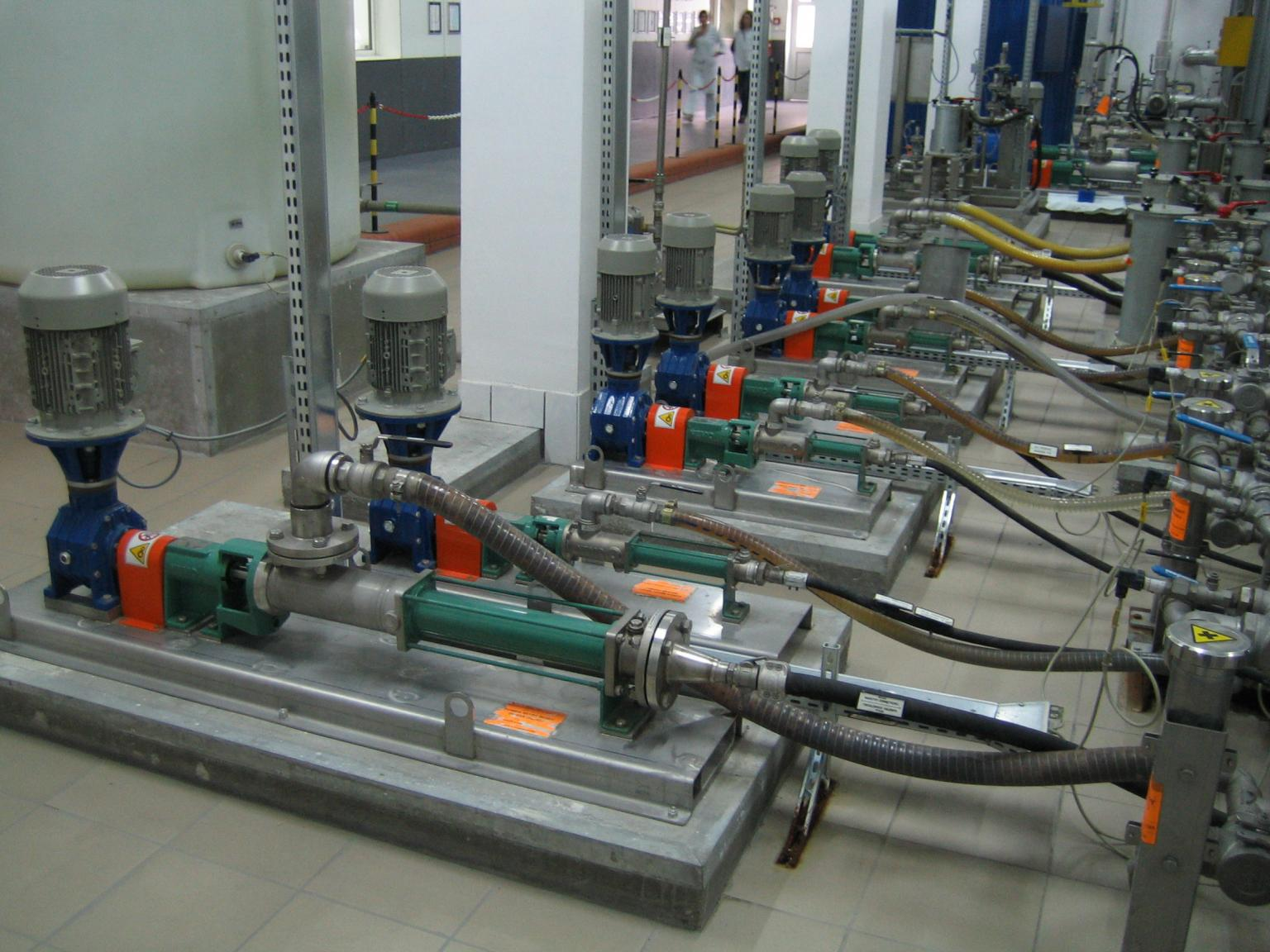 By customising the design and material the pumps can be designed for any application