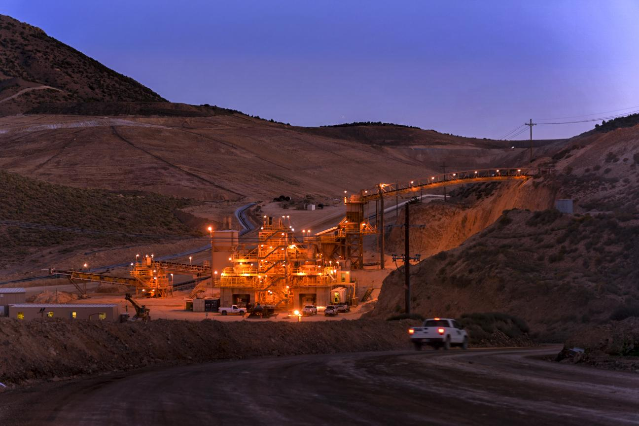 Coeur Rochester produced 4.2 million ounces of silver in 2014, along with 44,888 ounces of gold