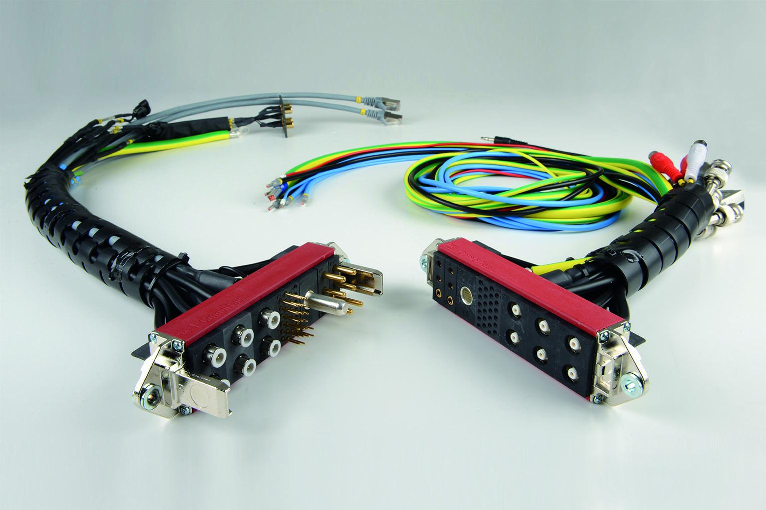 The complete CombiTac solution, including cable assembly