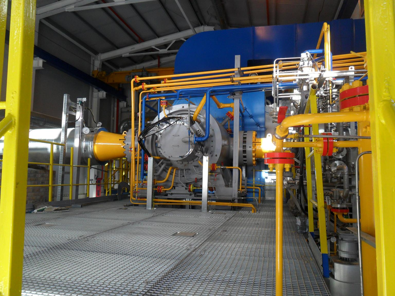 Waukesha Magnetic Bearings provided active magnetic bearing (AMB) systems for four 16 MW gas compressors at Gazprom's Compressor Station Elizavetinskaya-1