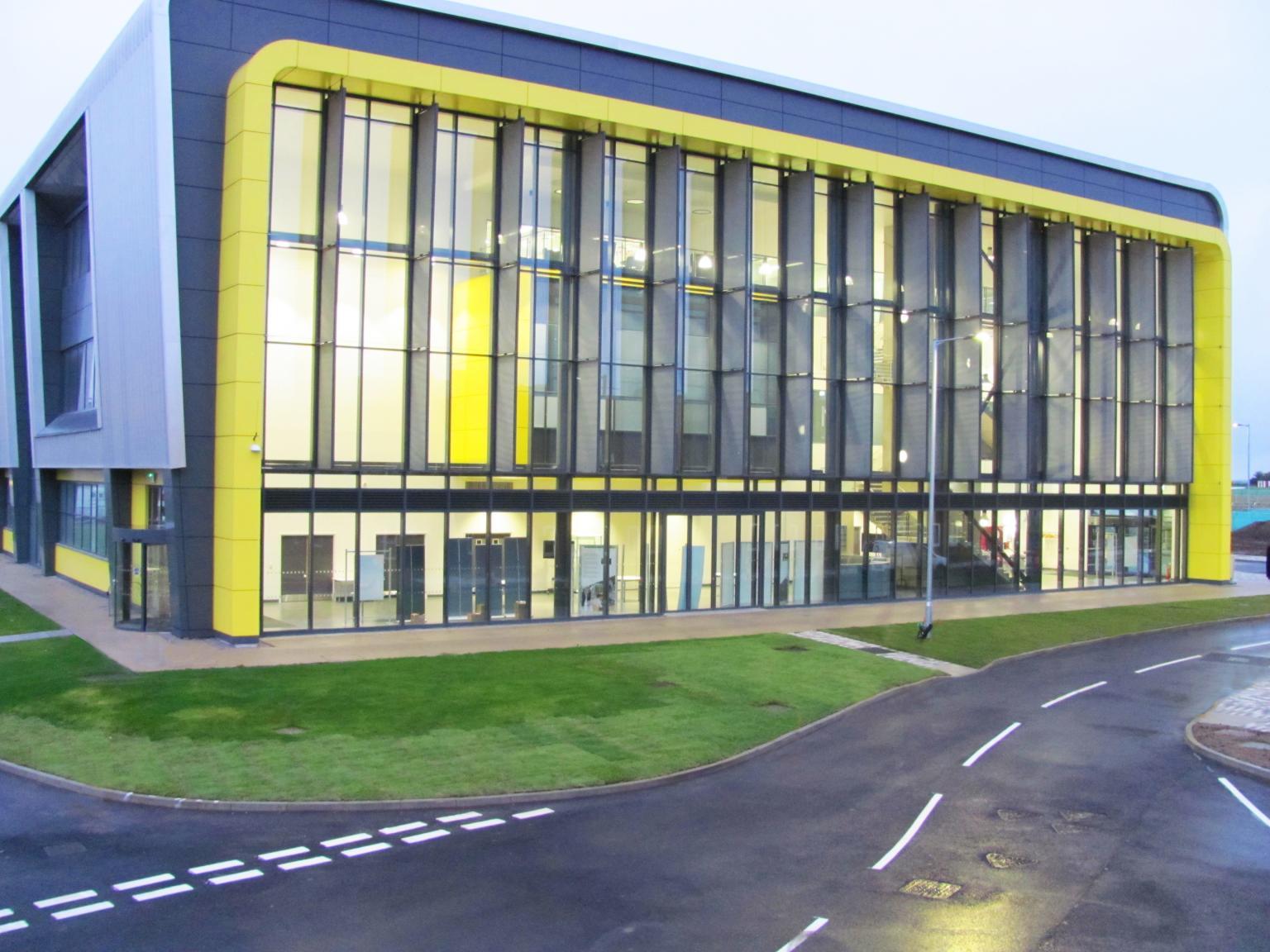 Cranfield's new research centre
