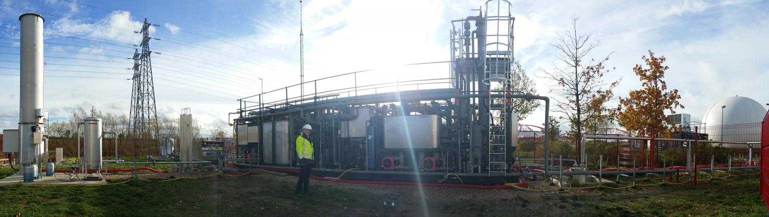 Cryo Pur can produce bio-LNG using an energy-efficient process that minimises polluting emissions