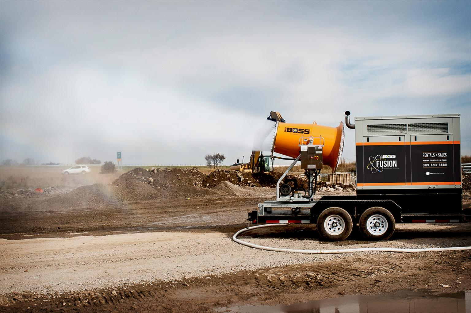 The unit is engineered to be highly mobile, and can be set up for use with potable or non-potable water